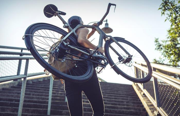 3D printed titanium bike