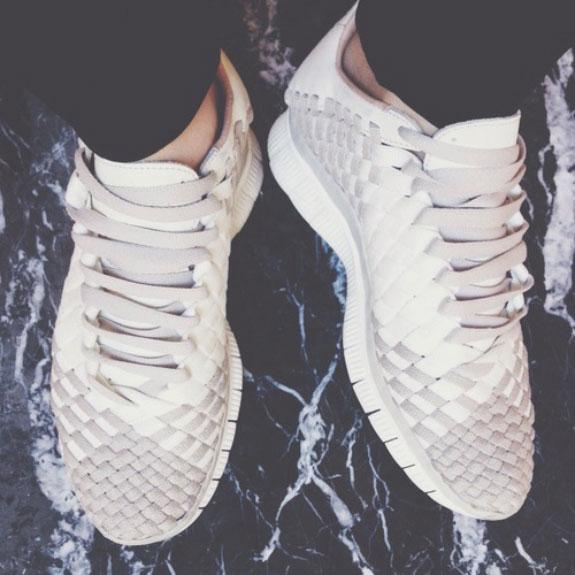 Urban Nike beige shoes