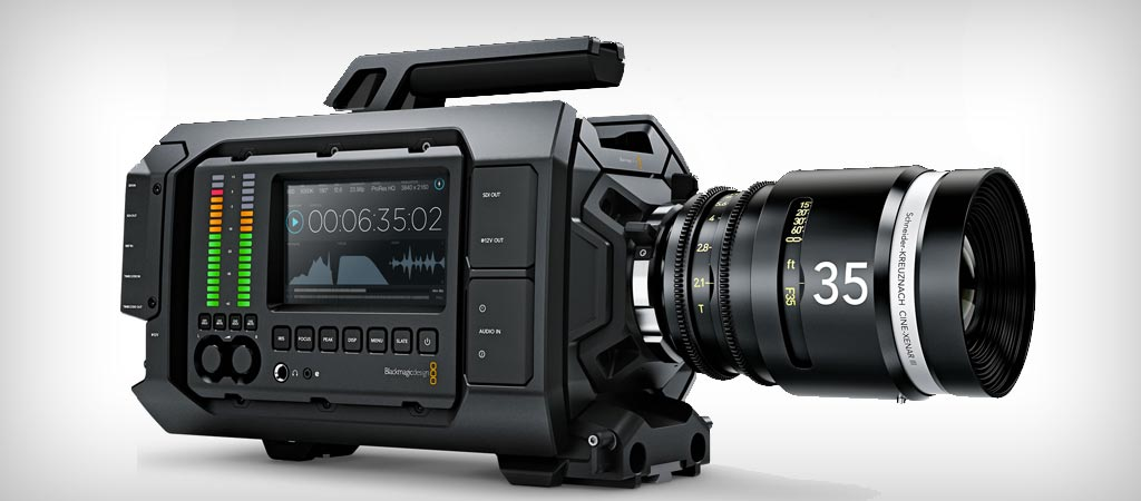 Blackmagic Ursa 4K camera