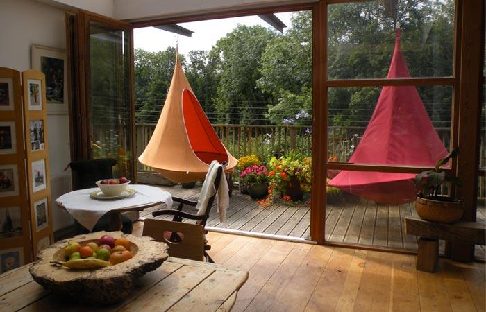 Cacoon hanging tent - Fauteuil de jardin suspendu ...