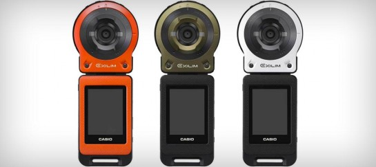 CASIO EXILIM EX-FR10 ACTION CAMERA