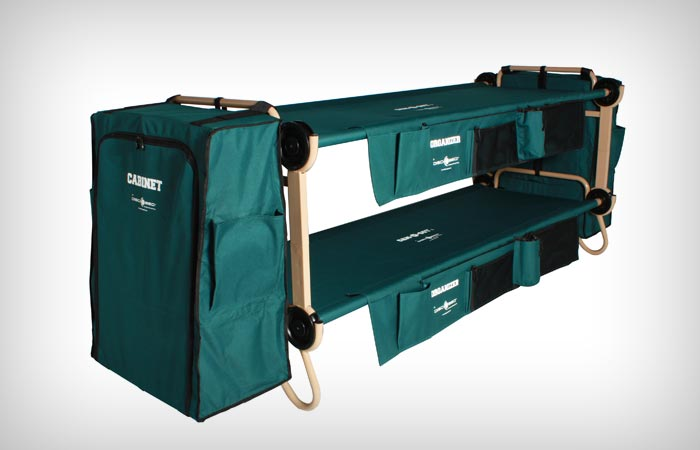 bunk bed cots for camping 1