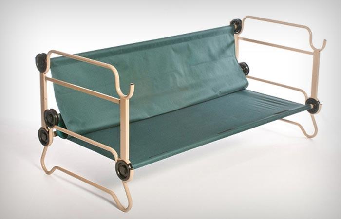 Disc-O-Bed Cam-O-Bunk cot
