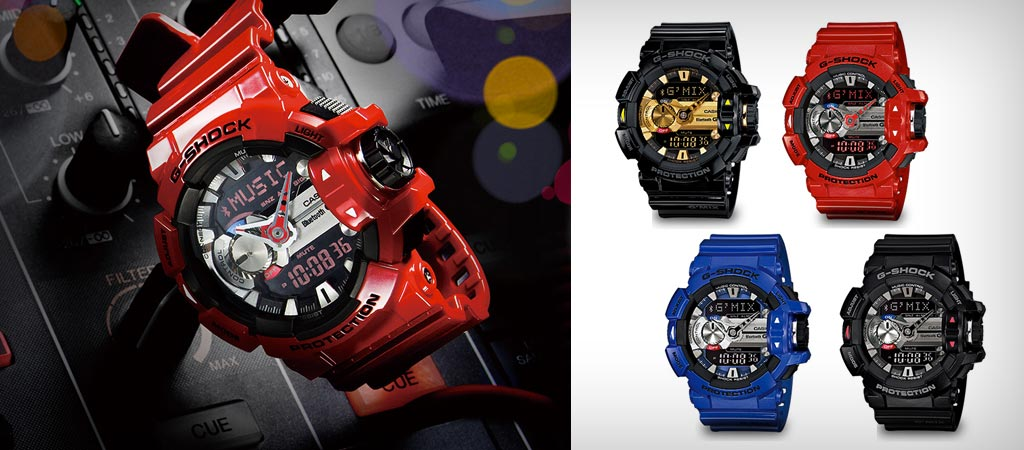 G-Shock G'Mix GBA -400