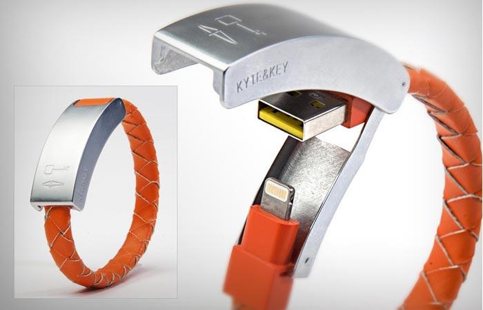 Kyte & Key Cabelet bracelet micro usb