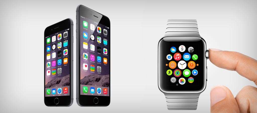 iPhone 6 and iPhone 6 Plus and iWatch