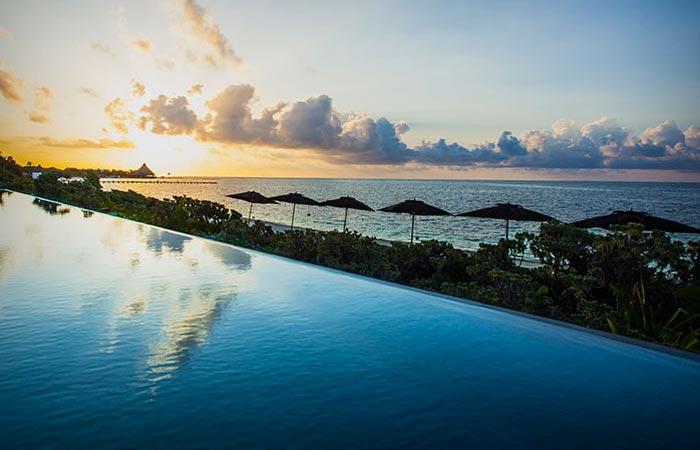 Sunset from Nizuc Resort and Spa