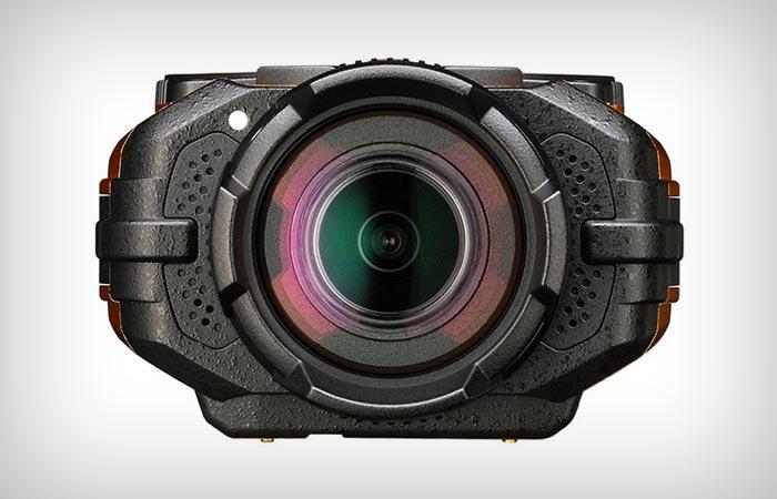 Ricoh WG-M1 action camera lens