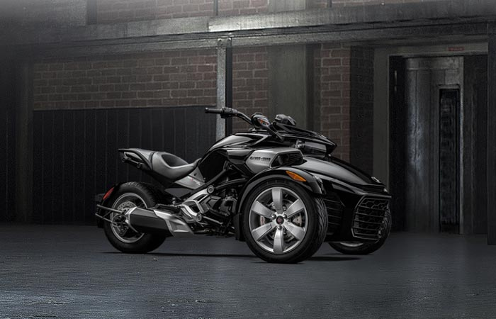 2015 Can-Am Spyder F3 in black