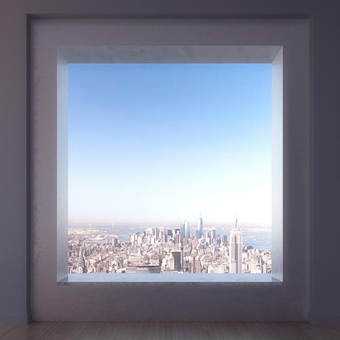 View of New York City from 432 Park Avenue