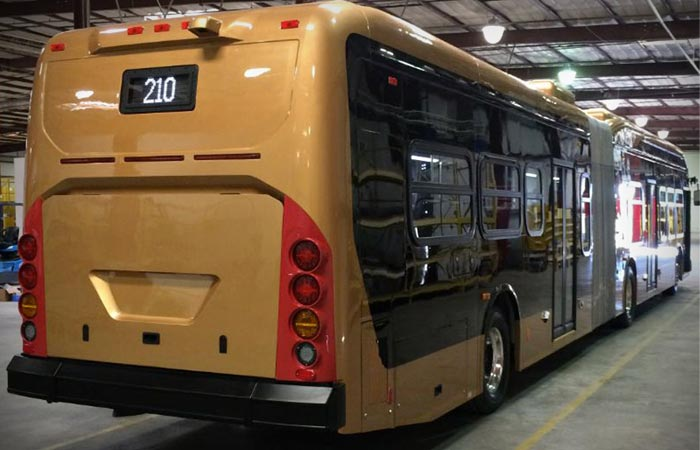 BYD Lancaster Electric Bus