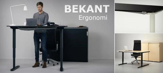 IKEA BEKANT SIT/STAND DESK