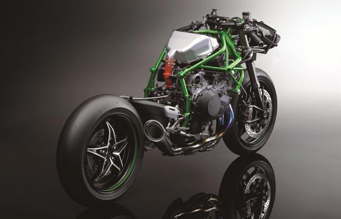 Kawasaki Ninja H2R bare bike