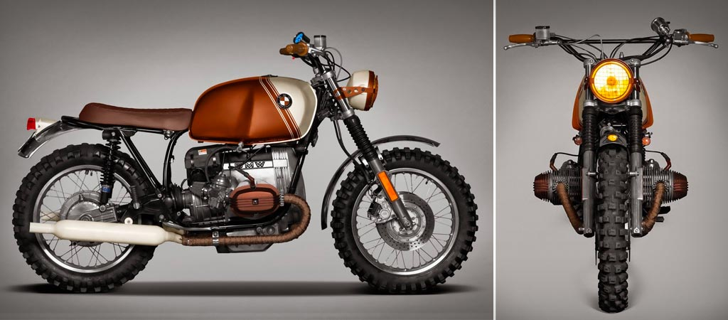 BMW R45 by Pure Ton-Up Garage