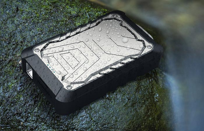 Photive water resistant battery