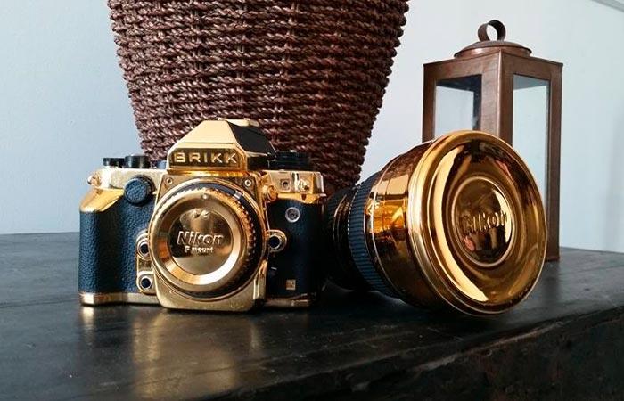 Brikk 24k Gold Nikon DF Camera