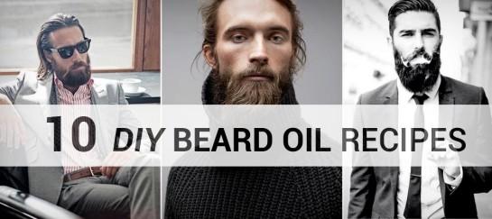 10 DIY BEARD OIL RECIPES
