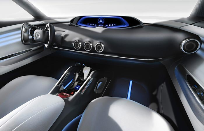 Interior of the Mercedes-Benz Vision G-Code
