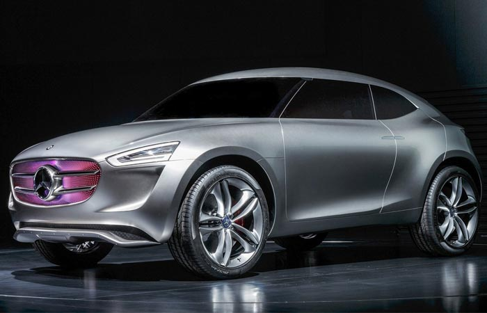 Solar powered Mercedes-Benz Vision G-Code