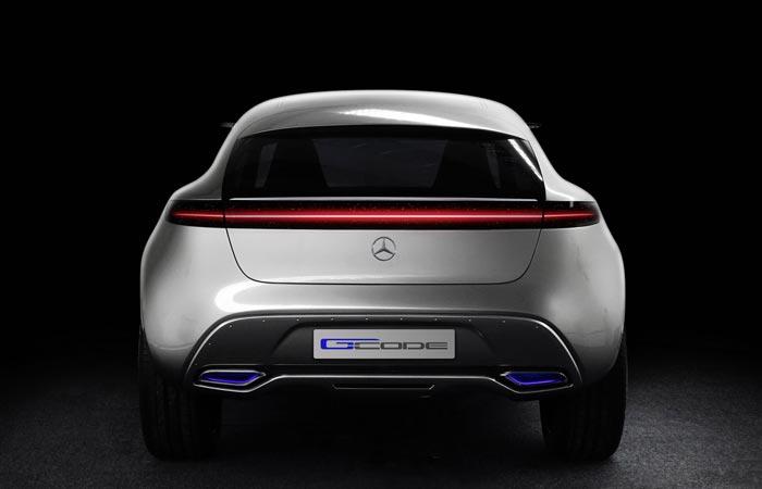 Mercedes-Benz Vision G-Code rear view