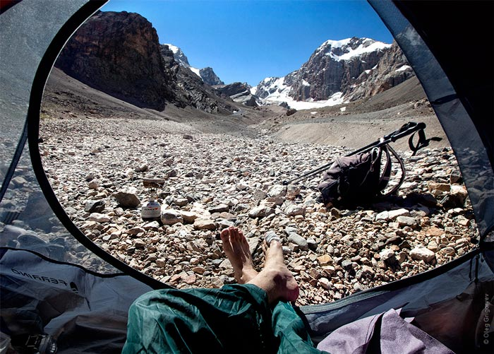 Morning views from the tent