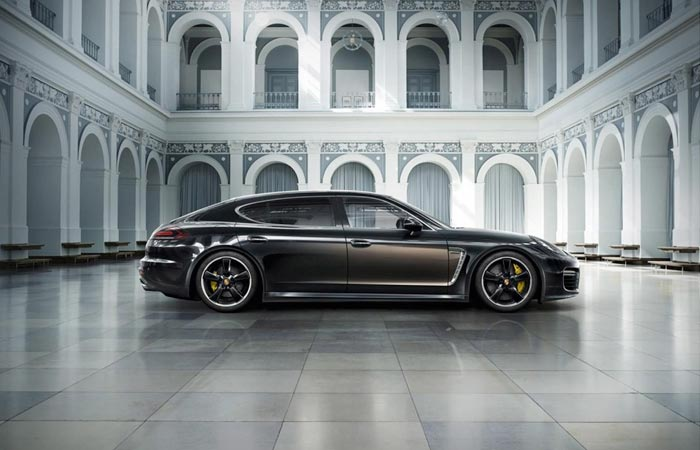 Exterior of the Porsche Panamera Exclusive Series
