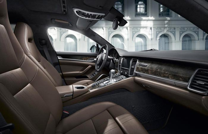 Porsche Panamera Exclusive Series interior