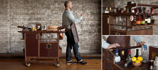 THE SIDECAR DRINKS CABINET | BY MOORE & GILES