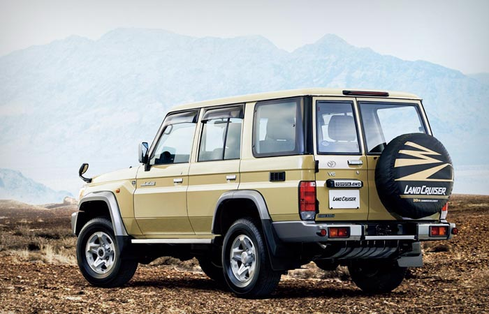 Toyota Land-Cruiser 70 Series re-release