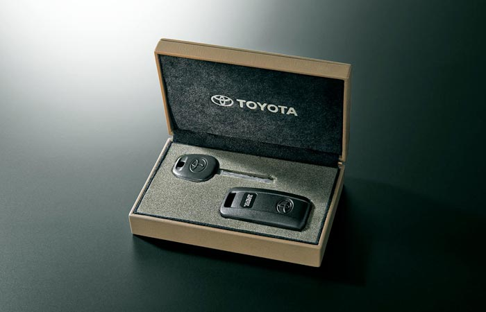 Key box of the Toyota Land-Cruiser 70 Series re-release