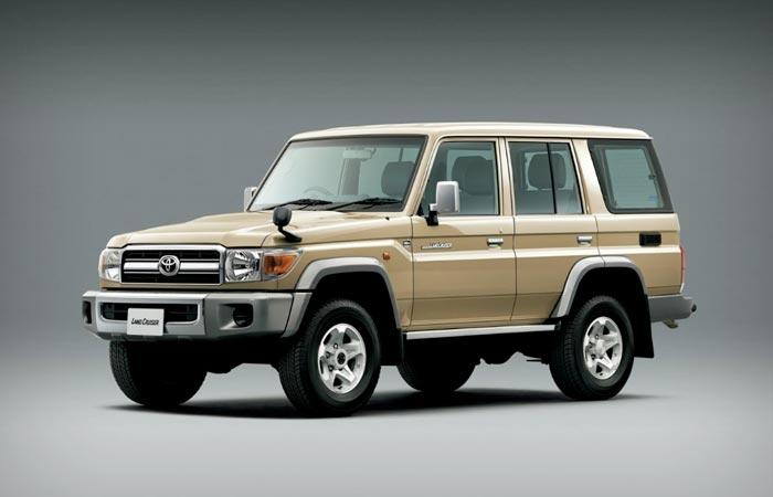 Toyota Land-Cruiser 70 Series re-release in Japan