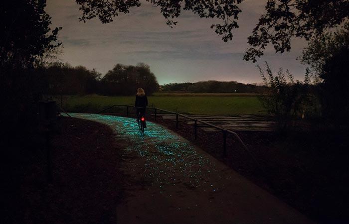 Van Gogh Roosegaarde bike path