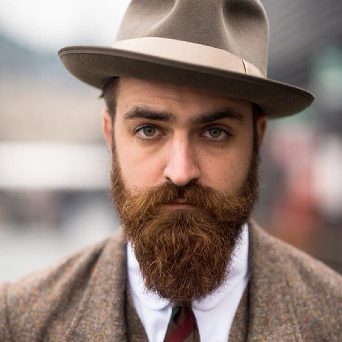 bearded guy with hat