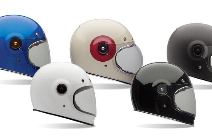 Colors of the Bell Bullitt motorcycle helmet