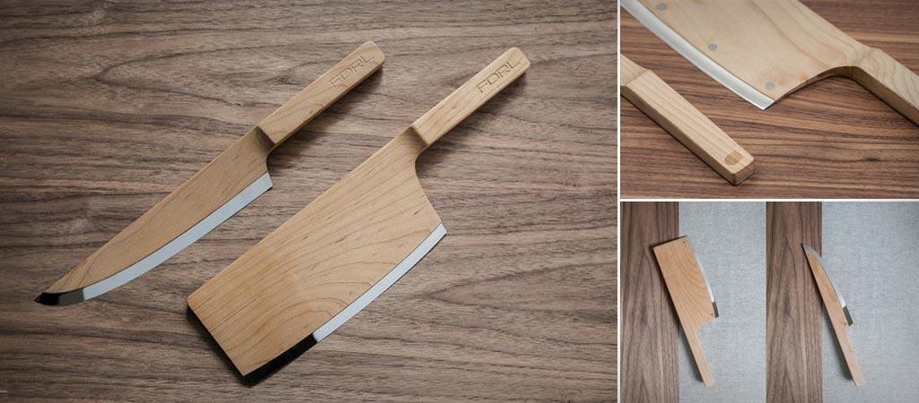 Canadian Maple Knife Set