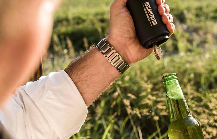 Corkcicle Decapitator beer bottle opener