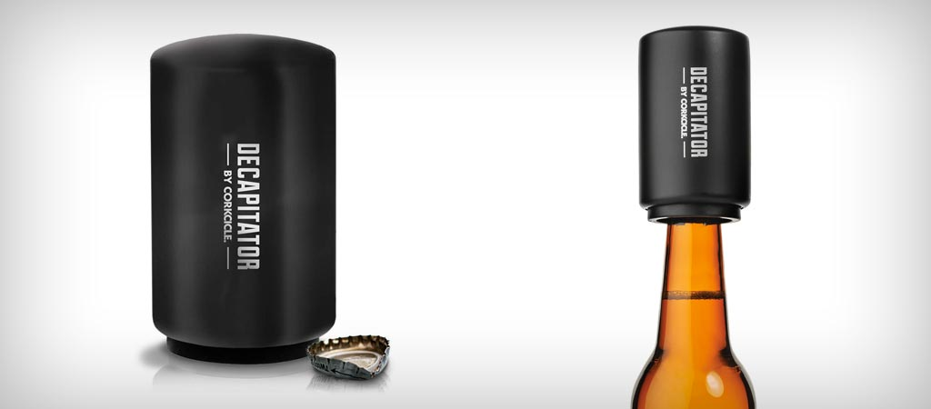 Corkcicle Decapitator beer bottle opener