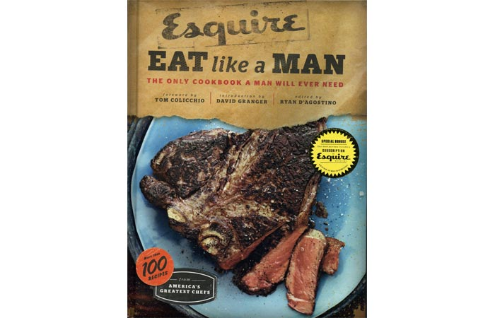 Eat Like a Man cookbook