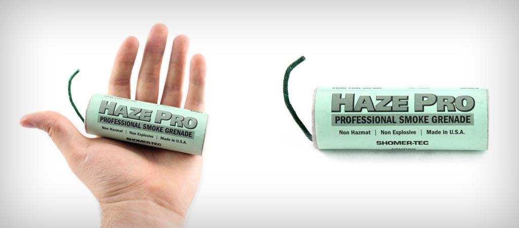 Tactical smoke grenade from Haze Pro