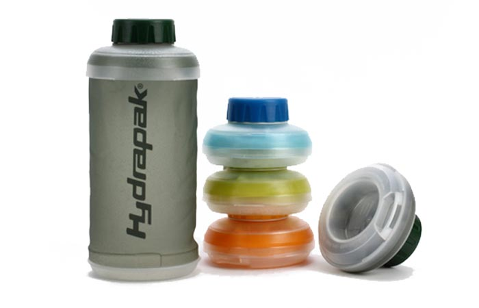 Collapsible bottle from Hydrapak