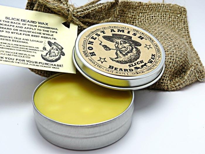 Honest Amish Beard Wax
