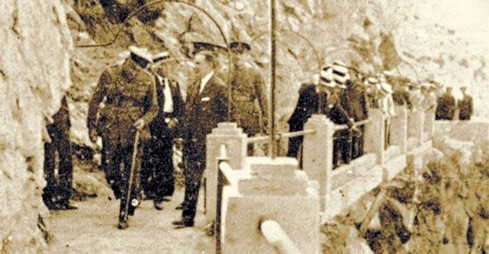 King Alfonso at El Caminito Del Rey