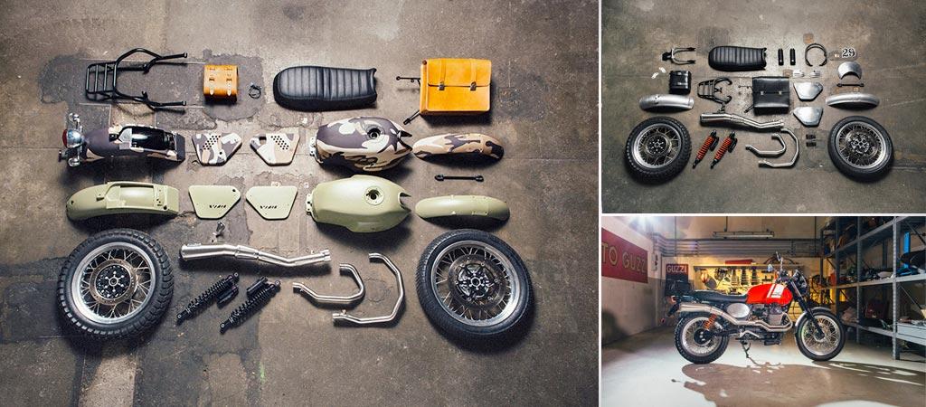 Moto Guzzi V7 custom kit