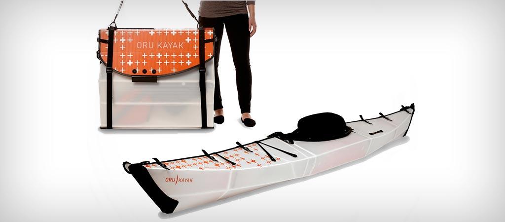 Oru Bay+ foldable kayak