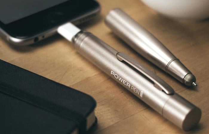 Stylus pen and battery charger