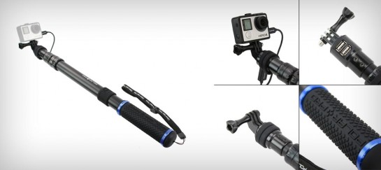 POWERPOLE GOPRO BATTERY POLE
