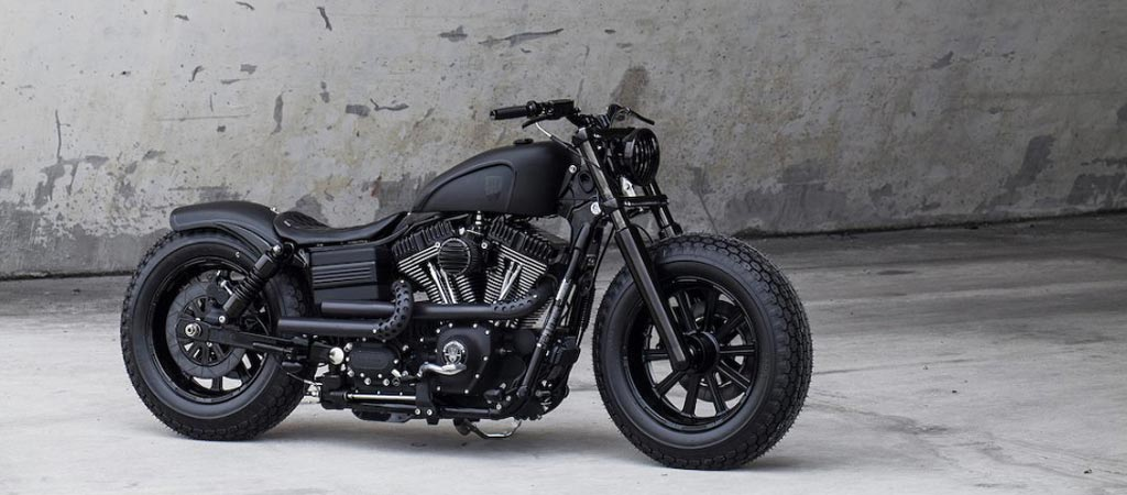 Dyna Guerilla Fat Bob by Rough Crafts