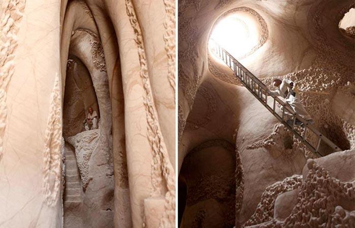 Sandstone caves by Ra Paulette