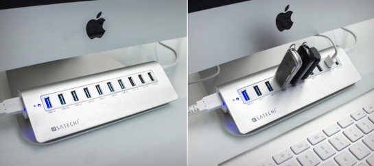 SATECHI 10 PORT USB 3.0 HUB