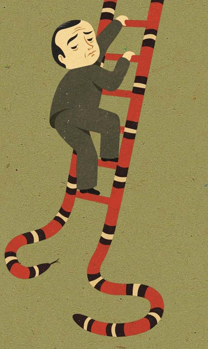 Snake ladder John Holcroft
